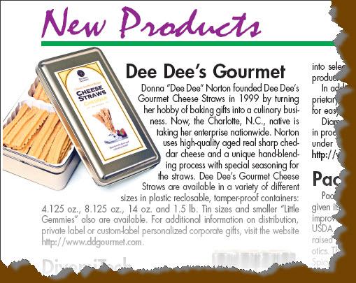 Legacy - Dee Dees Gourmet Cheese Straws